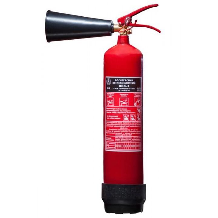 Огнетушитель углекислотный переносной ВВК2 (ОУ-3)