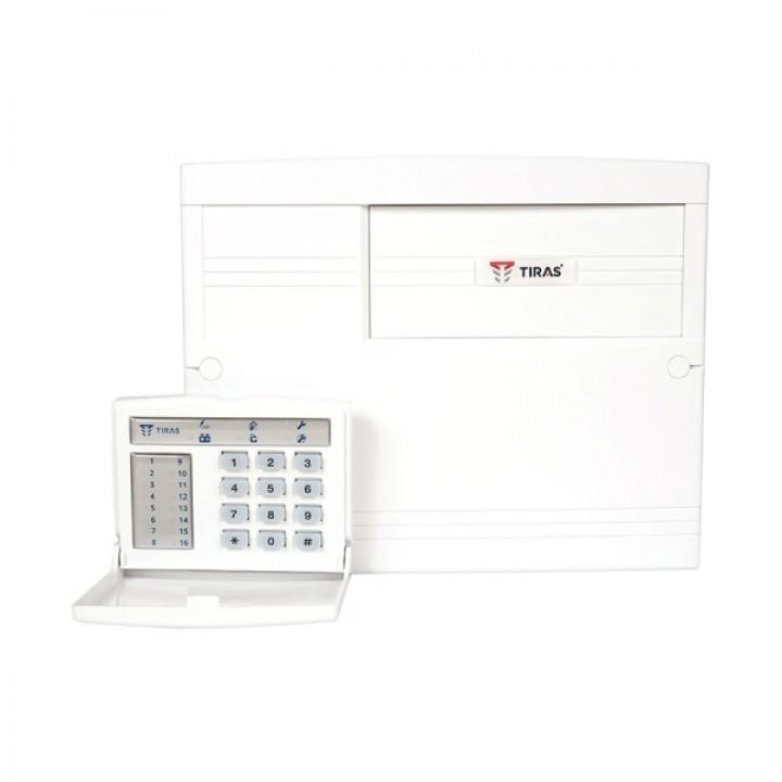 Пультовой прибор охранной сигнализации с встроенным GSM-модулем для средних объектов Оріон-16Т.3.2