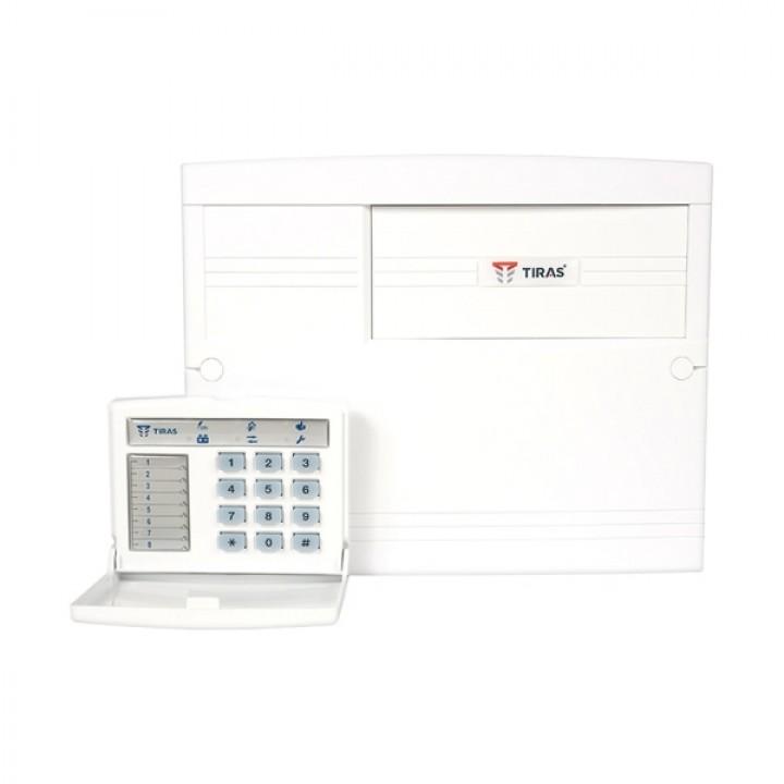 Пультовой прибор охранной сигнализации с встроенным  GSM-модулем для средних объектов  Орион-8І.3.2