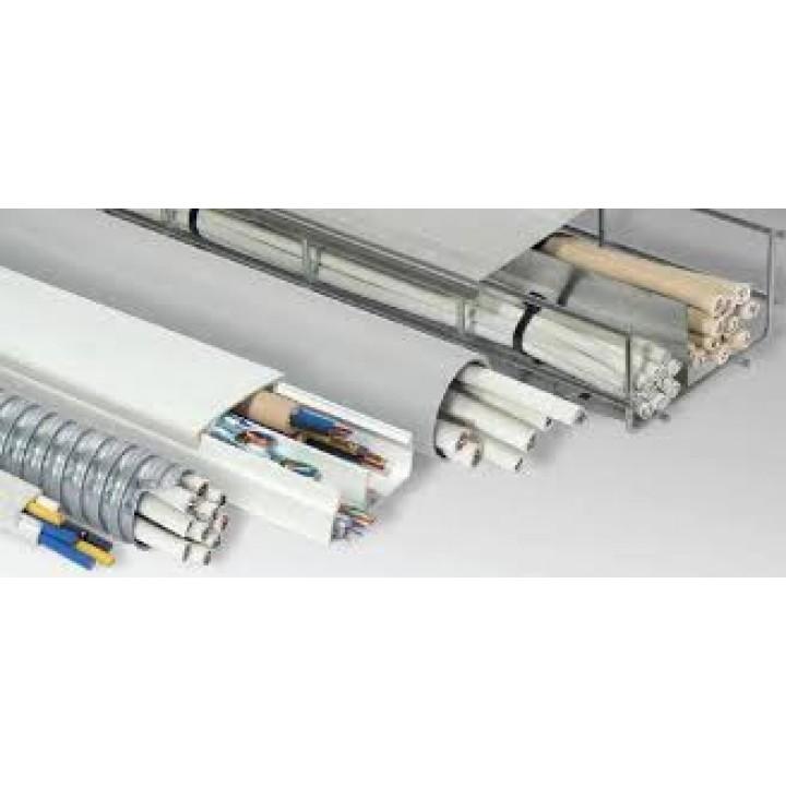 Монтаж кабеля ПСВВ в коробе (1м)